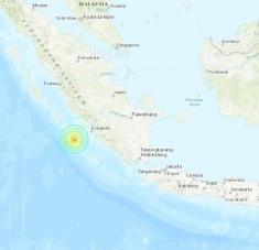 Los movimientos telúricos tuvieron lugar a unos 22 y 26 kilómetros de profundidad. Foto: earthquake.usgs.gov
