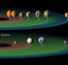 Planetas de otro sistema distinto al solar podrían contener incluso océanos de agua líquida, lo que sugiere posibles zonas habitables en el espacio exterior. Foto: UC Riverside