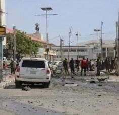 El violento incidente dejó un saldo de 14 heridos, que reciben atención en diferentes centros asistenciales de la capital. Foto: Agencia Anadolu