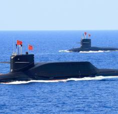 El Changzheng 18, un submarino nuclear Tipo 094A, es capaz de disparar el misil balístico JL-3, que tiene un alcance de más de 10.000 kilómetros, según una fuente de South China Morning Post. Foto: Reuters.