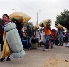 El mandatario Nicolás Maduro alertó sobre el aumento de contagios de coronavirus importados en el país e instó a intensificar las medidas de control del virus. Foto: EFE