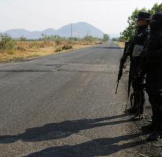 Los restos de las víctimas mutiladas se encontraron dentro de bolsas de plástico en un camino rural. Foto: Reuters.