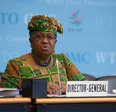 'Si todos aceptamos que ya no podemos hacer negocios como de costumbre, eso nos ayudará a crear los parámetros para el éxito', expresó Ngozi Okonjo-Iweala.