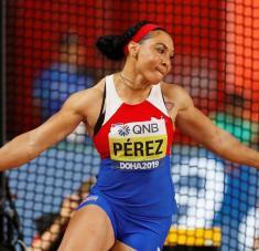 Yaimé tiene condiciones para quebrar el récord nacional de 70.88 metros en poder de su entrenadora Hilda Elisa Ramos.