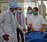 Valdés Mesa visitó varios centros vinculados a la producción de alimentos en el Municipio especial. Foto: Ana Esther Zulueta.