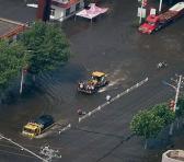 El tifón In-fa provocó severas inundaciones a su paso por la provincia china de Henan. Foto: Xinhua
