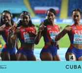Alegría doble: Oro en el Mundial y pasaje a Tokio para nuestro 4x400 femenino