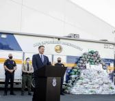Durante las últimas semanas, el organismo estadounidense ha confiscado más de dos toneladas de drogas provenientes de México. Foto: AP