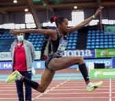 Lia tiene ambiciones objetivas de podio olímpico, y 15 metros.