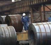 La clase obrera con apoyo del Estado venezolano reactivó la producción de hojalata en la planta Tandem II de la Siderúrgica del Orinoco (Sidor) en 2017. Foto: Referencial