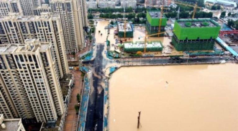 Durante el periodo de 24 horas, seis estaciones de monitoreo de Henan registraron precipitaciones superiores a los 50 milímetros. Foto: Twitter @IramsyteleSUR