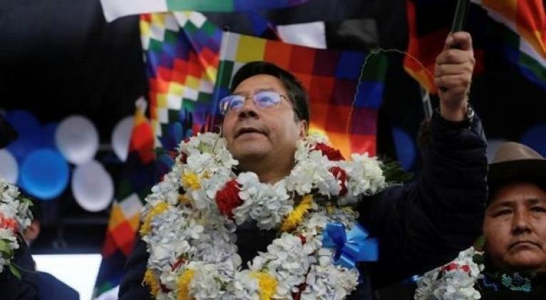 Arce denunció la persecución política desatada contra los líderes del MAS, por parte del actual Gobierno de facto boliviano. Foto: Reuters
