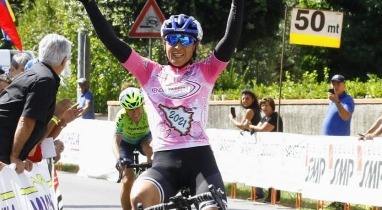 Arlenis se ha convertido en una ciclista muy respetada en la élite mundial de ruta.