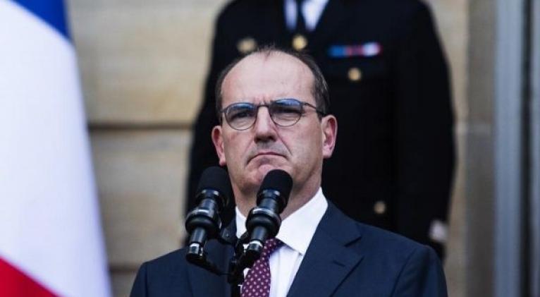 Castex asumió la primera magistratura de Francia el pasado 3 de julio. Foto: Bloomberg