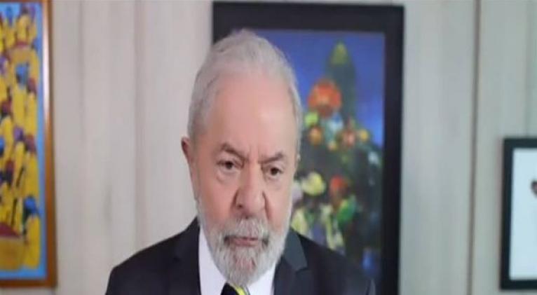 Lula da Silva restó importancia a la crisis en Brasil tras los cambios de Bolsonaro en la cúpula de las Fuerzas Armadas. Foto: @rtppt