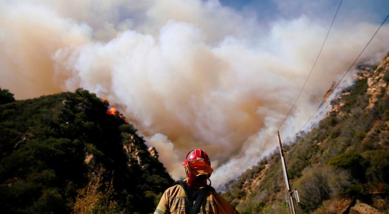 La temperatura global promedio se ubicó 1.2 ºC por encima de los niveles preindustriales, a pesar de la caída de la actividad económica por la pandemia. Foto; Reuters.