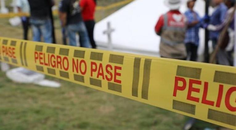 Las autoridades aún desconocen los móviles por el cual fue asesinado Vianey Gaviriaen el departamento de Caquetá. Foto: AS Colombia