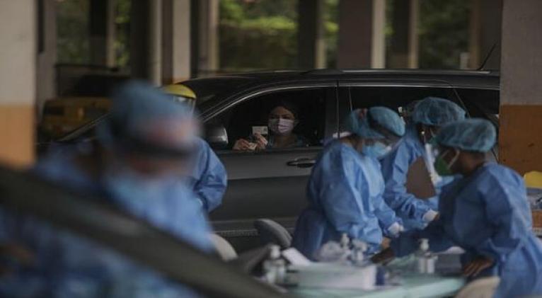América Latina presenta un incremento de casos de la Covid-19 lo que evidencia una segunda ola de la pandemia. Foto: Xinhua