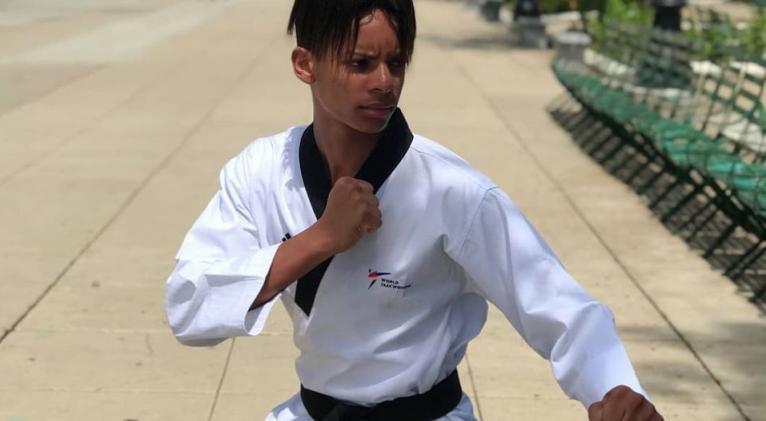 Cubano Darío Navarro continúa cosechando éxitos en torneos online de Poomsae