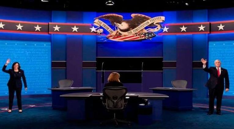 Kamala Harris afirmó que existe una diferencia fundamental en la agenda económica entre Joe Biden y Donald Trump. Foto: EFE