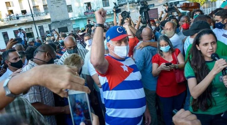 EN VIDEO: Asiste Díaz-Canel a manifestación juvenil en el Parque Trillo de  La Habana (FOTOS)   Cuba Si