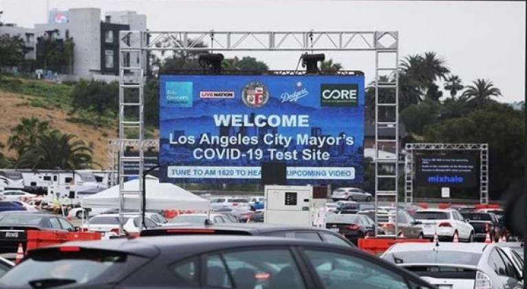 En cuanto a números de contagios, California con 271.013 es el segundo estado solo por detrás de Nueva York. Foto: EFE