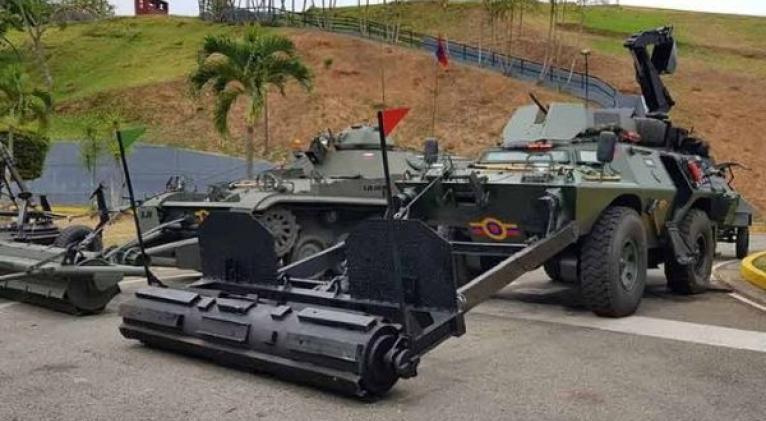 El Ejército venezolano realizará en Alto Apure labores de desmontaje de minas antipersonales implantadas por grupos terroristas colombianos. Foto: FANB