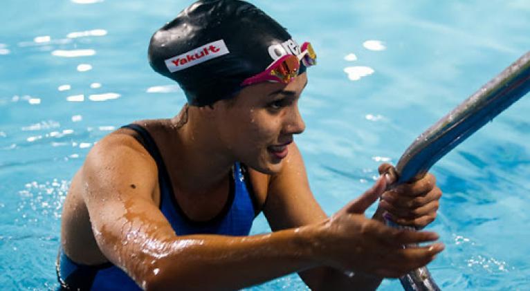 Elisbet confía en mejorar sus registros, fundamentalmente ne los 200 metros.