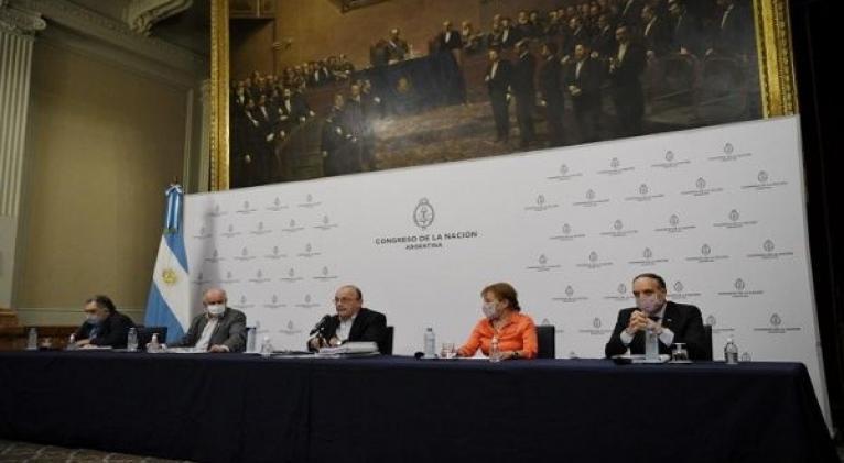 La expresidenta Cristina Fernández fue víctima del sistema de vigilancia, afirmó el diputado Leopoldo Moreau. Foto: @Diputados_Todos