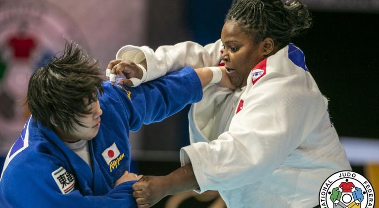 Idalys y Sone se perfilan como las más serias candidatas al cetro de los +78 kg en Tokio. Foto: www.judoinside.com