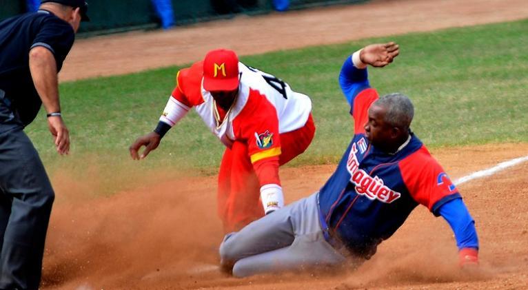 Mucha rivalidad desde el comienzo matizó el fin de semana beisbolero, con algunas candidaturas claras a clasificación. Foto: José Raúl Rodríguez Robleda.