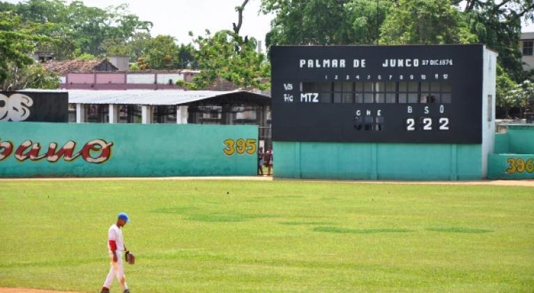El Palmar de Junco se ha erigido como el templo histórico de la pelota cubana.
