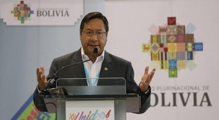 Arce subrayó papel nefasto de la OEA en las elecciones de 2019 y destacó que no asistiría a ninguna invitación donde participe el organismo. Foto: EFE