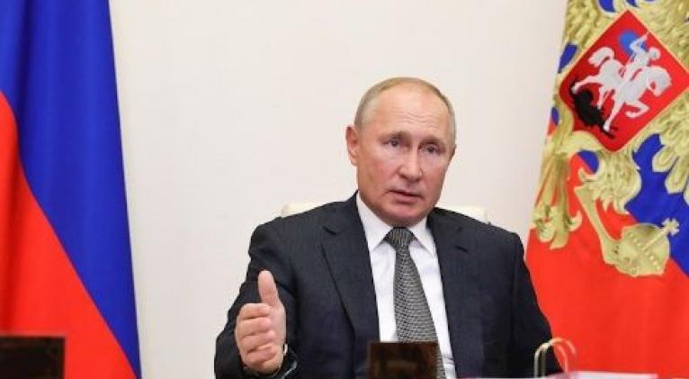 Putin propone una versión informática de los pactos de seguridad entre Estados Unidos y Rusia. Foto: EFE