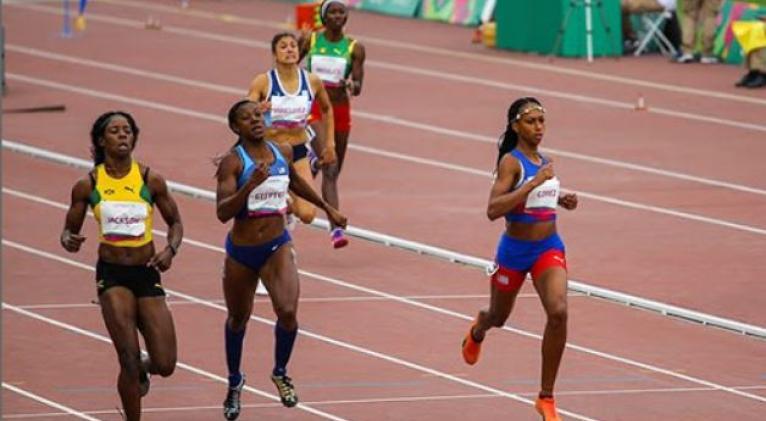 Roxana, a la derecha, constituye una de las mayores esperanzas cubanas en la velocidad de cara a un posible rendimiento loable en Tokio.