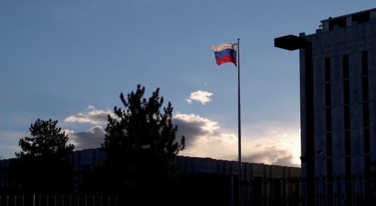 Desde la Cancillería rusa han señalado que las acciones de EE.UU. contra el país no pueden permanecer sin respuesta. Foto: Reuters.