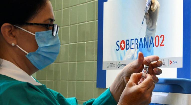 Primera dosis de Soberana 02 llegará a beneficiados con placebo