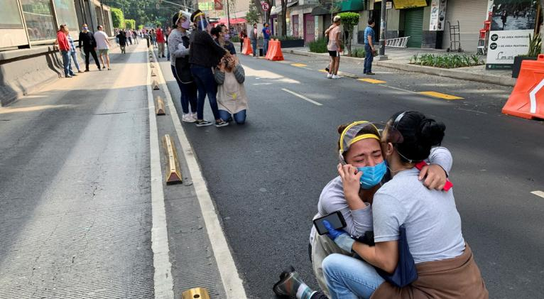 Este martes, México registró un sismo de 7,5 en la escala de richter con su epicentro localizado a unos 12 kilómetros de la población de Crucecita, en el estado de Oaxaca. Foto: Reuters.