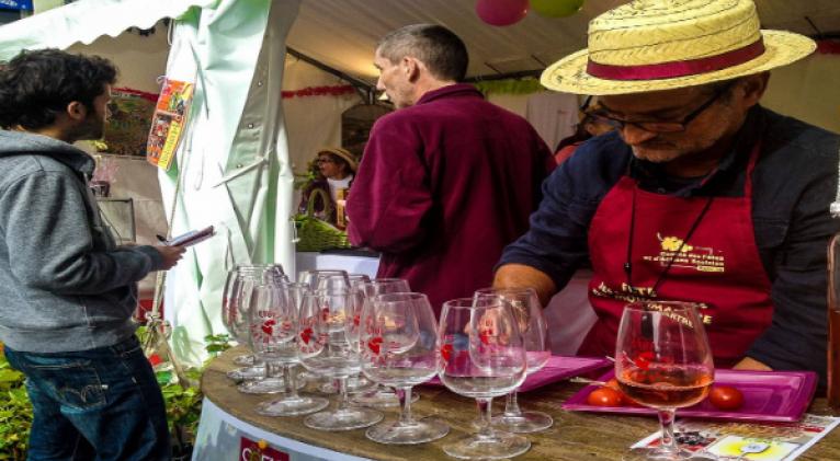 La famosa fiesta del vino cerca de la cúpula blanca de la Basílica del Sacré Cœur en MontMartre, fue suspendida para evitar la propagación del coronavirus. Foto: Pixabay