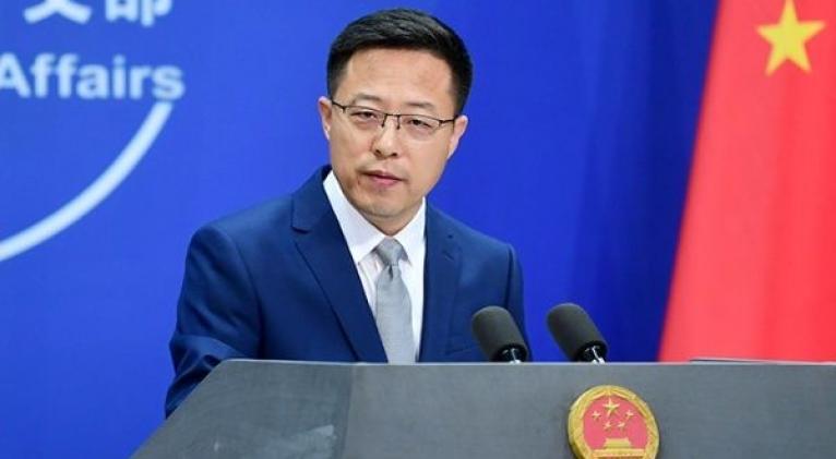 Zhao Lijian ha advertido sobre las intromisiones de EE.UU. en la democracia China. Foto: Twitter @zlj517