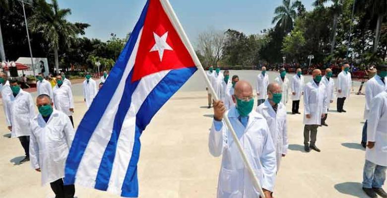 Cuba brinda apoyo médico a Sudáfrica