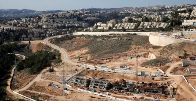 Imagen principal Una vista general muestra unos asentamientos israelíes en Cisjordania ocupada 27 de enero de 2020