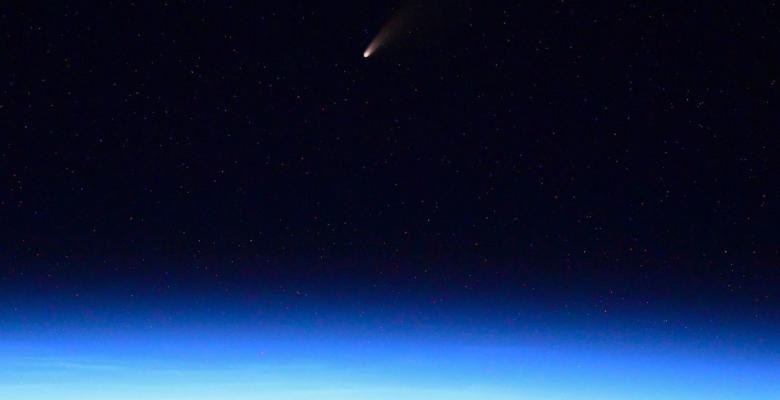 El cometa NEOWISE ilumina el cielo potosino