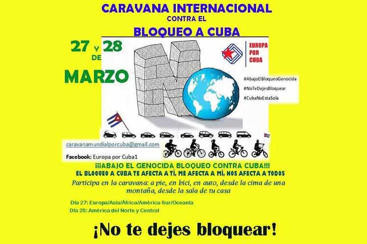 cubanos por el mundo caravana